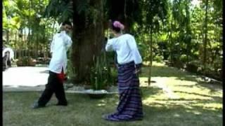 Pambansang Sayaw ng Pilipinas - Cariñosa (Philippine National Dance)