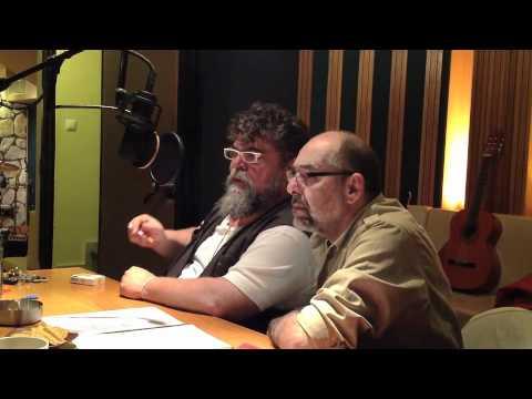 Ο Σταμάτης και ο Θέμης στο στούντιο
