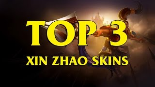 TOP 3 趙信 自製skin