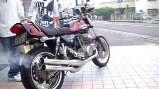 getlinkyoutube.com-750SS KAWASAKI H2 750 SS MACHⅣ triple 1973 マッハマスター bike  バイク