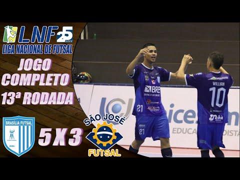 JOGO COMPLETO: Brasília Futsal 5 x 3 São José – 13ª Rodada LNF 2020 (09/10/2020)