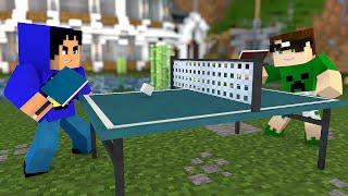 getlinkyoutube.com-Minecraft: PING PONG NO MINECRAFT! (Tênis de Mesa)