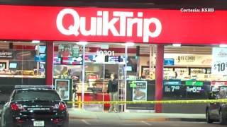 Un tiroteo en un QuikTrip en Shawnee Kansas puso a correr a las autoridades.