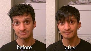 getlinkyoutube.com-How to Straighten and Style Short, Wavy Men's Hair