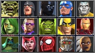 MarveL Contest OF Champions   21 PVP Battels   Full Game Play - 1080 HD