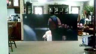 getlinkyoutube.com-$35 DIY black projection screen VS daylight: Youtube optimized copy (1.5:1DeepOnyx)