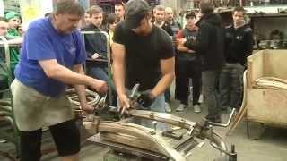 getlinkyoutube.com-Simon a Michal ohýbají dřevo.