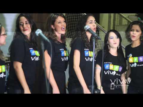 Grupo Samba de Salto na abertura do Festival dos Festivais - VIVA Escola de Artes