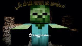 getlinkyoutube.com-Minecraft ¿De dónde vienen los zombies? [Creepypasta propio]