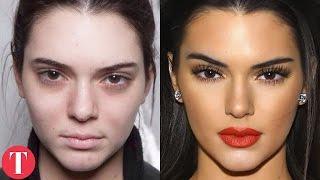 getlinkyoutube.com-10 Shocking Photos Of Supermodels Without Makeup pt.2