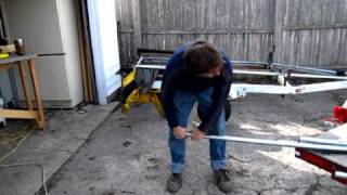 getlinkyoutube.com-Hoop House - pipe bending