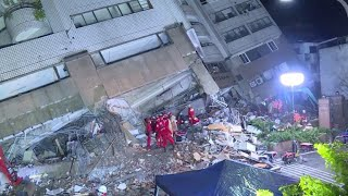 Siete muertos y más de 250 heridos en terremoto de Taiwán