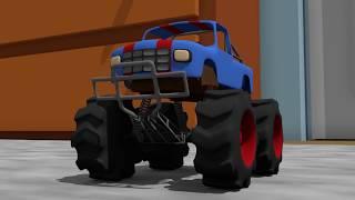 Small Monster Truck   Toy Car for Kids   Formation - Bajki Dla Dzieci   Zabawka Monster Truck