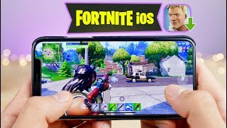 Playing Fortnite Mobile on iPhone! How To Download