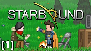 getlinkyoutube.com-Starbound - Part 1 - Core Fragment Ore, Pixel Slicer Axe