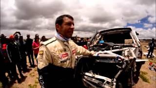 getlinkyoutube.com-Recopilación Vuelco Pato Silva Dakar 2015