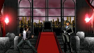 getlinkyoutube.com-[KOF WOJ] Kyo Kusanagi (First) vs Gustab Munchausen