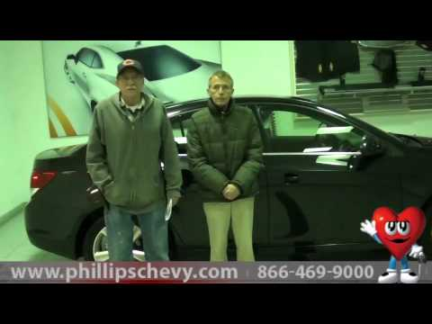 2013 Chevy Cruze - Phillips Chevrolet Customer Review - New Car Dealer Sales Chicago Dealership
