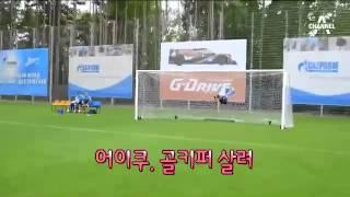 브라질 헐크의 대포알 슛…'골키퍼 살려'
