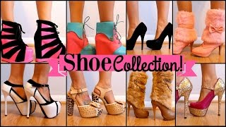 getlinkyoutube.com-My Shoe Collection - Try On Session!