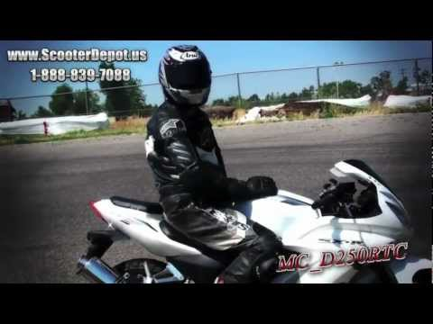 Race Bike, Sunny 250cc MC_D250RTC, Street Legal Full Size Sport Bikes Performance on Autodrome