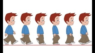 getlinkyoutube.com-Flash Animation Tutorial - Character Walk Cycle Part-1
