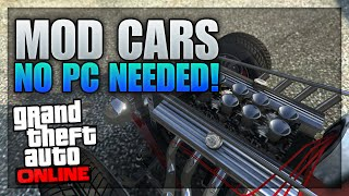 getlinkyoutube.com-GTA 5 Rare Cars - NEW Secret Car Customizations On GTA 5 Online (SECRET & MODDED Panto & Hotknife)