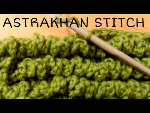 How to crochet the ASTRAKHAN stitch / LAMB stitch / SHEEP stitch ♥ CROCHET LOVERS