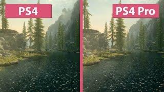 getlinkyoutube.com-4K UHD | Skyrim Special Edition – PS4 vs. PS4 Pro 4K Graphics Comparison