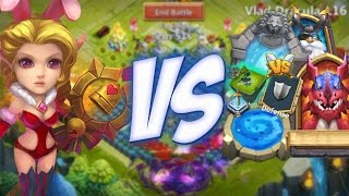getlinkyoutube.com-Castle Clash Candy Kane Gameplay (Montage)