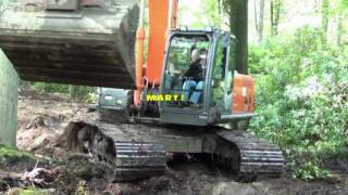 getlinkyoutube.com-HITACHI 210 LC Wouwse plantage