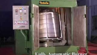getlinkyoutube.com-Single Station Rotational Moulding Machine EN-1000