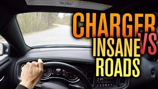 DODGE CHARGER VS MOST INCREDIBLE ROADS?? POV
