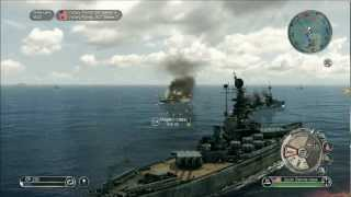 getlinkyoutube.com-Battlestations Pacific: South Dakota Class Rampage