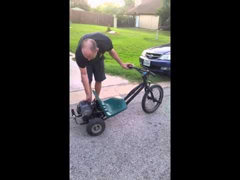 Homemade Motorized Drift Trike
