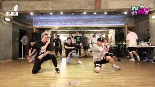 getlinkyoutube.com-Bastarz (Block B) Zero for Conduct Dance Practice (MIRROR)