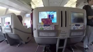 getlinkyoutube.com-Garuda Indonesia Business Class A330-200 SYD to DPS Review (Executive Class)