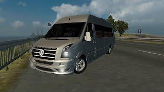 ETS2 - VW Crafter tuning - Logitech G27 (Euro Truck Simulator 2)