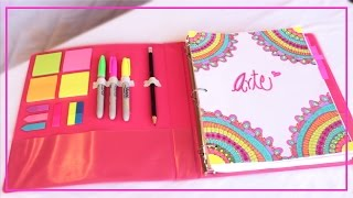 getlinkyoutube.com-DIY- DECORA Y ORGANIZA TU CARPETA♡ REGRESO A CLASES!!-ILSE GOMEZ
