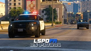 getlinkyoutube.com-LSPDFR - Day 86 - Crazy Taxi