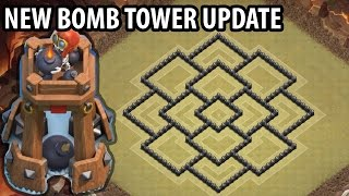 getlinkyoutube.com-Clash of Clans - Town hall 8 (Th8) War Base + BOMB TOWER - ANTi GoWipe ANTi Dragons ANTi GoHo