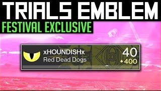 getlinkyoutube.com-Destiny   NEW TRIALS EMBLEM! - Festival of The Lost Exclusive Trials of Osiris Emblem!