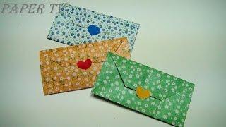 getlinkyoutube.com-[Paper TV] Origami Wallet  지갑  종이접기 折り紙 財布  como hacer billetera de papel carteira de papel