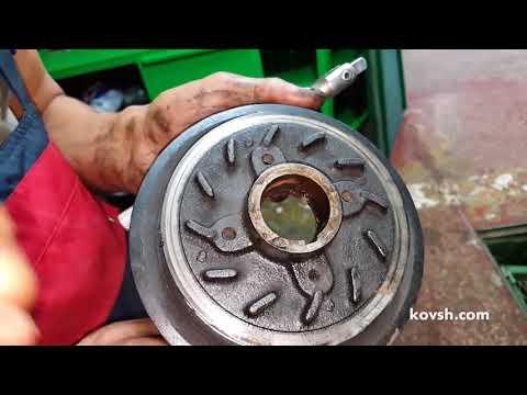 Расположение в Hyundai H-1 прокладки клапанной крышки