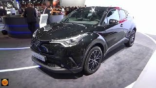 getlinkyoutube.com-2017 Toyota C-HR C-HIC - Exterior and Interior - Paris Auto Show 2016