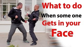 getlinkyoutube.com-What to do when some one gets in your face