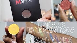 getlinkyoutube.com-Morphe Brushes Eyeshadow Swatches | Rebecca Camara