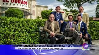 Manuel Capó recibió un reconocimiento entre las 40 personas más influyentes en industria de muebles