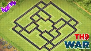Clash of Clans - TOWN HALL 9 (TH9) BEST WAR/TROPHY BASE + I'm Back