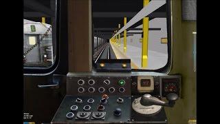 OpenBVE HD: Operating NYC Subway R44 [New Cab] C Train (168th Street to Euclid Avenue) 3/27/17